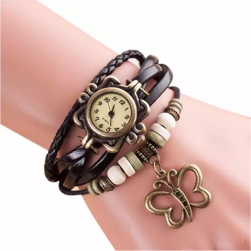 552a96c294c1 Reloj Pulsera De Moda Con Mariposa - Envio Gratis! -   200.00 en ...