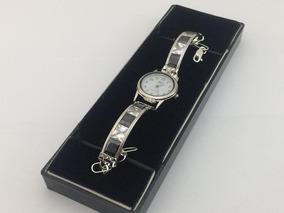 37d277dc35b1 Reloj Pulsera De Plata Ley 925 Con Piedras Zirconia Dama R13
