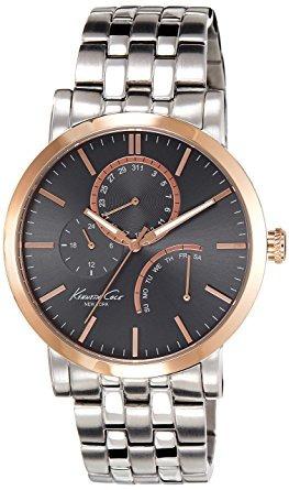 reloj pulsera de reloj de vestir deportivas kc9260 oro rosa