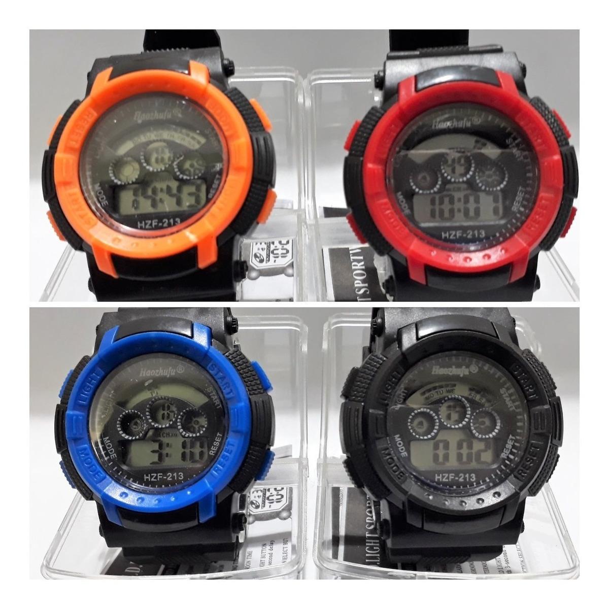 comprar última colección gran ajuste Reloj Pulsera Deportivo Colores Varios X Mayor Por 10 Unida