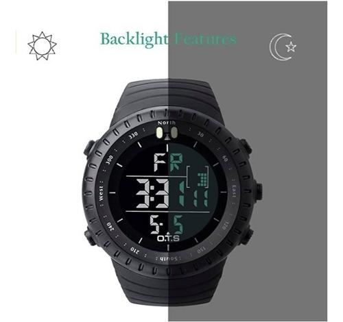 reloj pulsera digital, con mecanismo de cuarzo palada