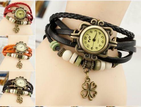 reloj pulsera en cuero para mujer docena envio gratis bogota