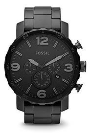 hermosa y encantadora mejor proveedor como escoger Reloj Pulsera Fossil Nate Acero Inoxidable P/hombre Jr1401