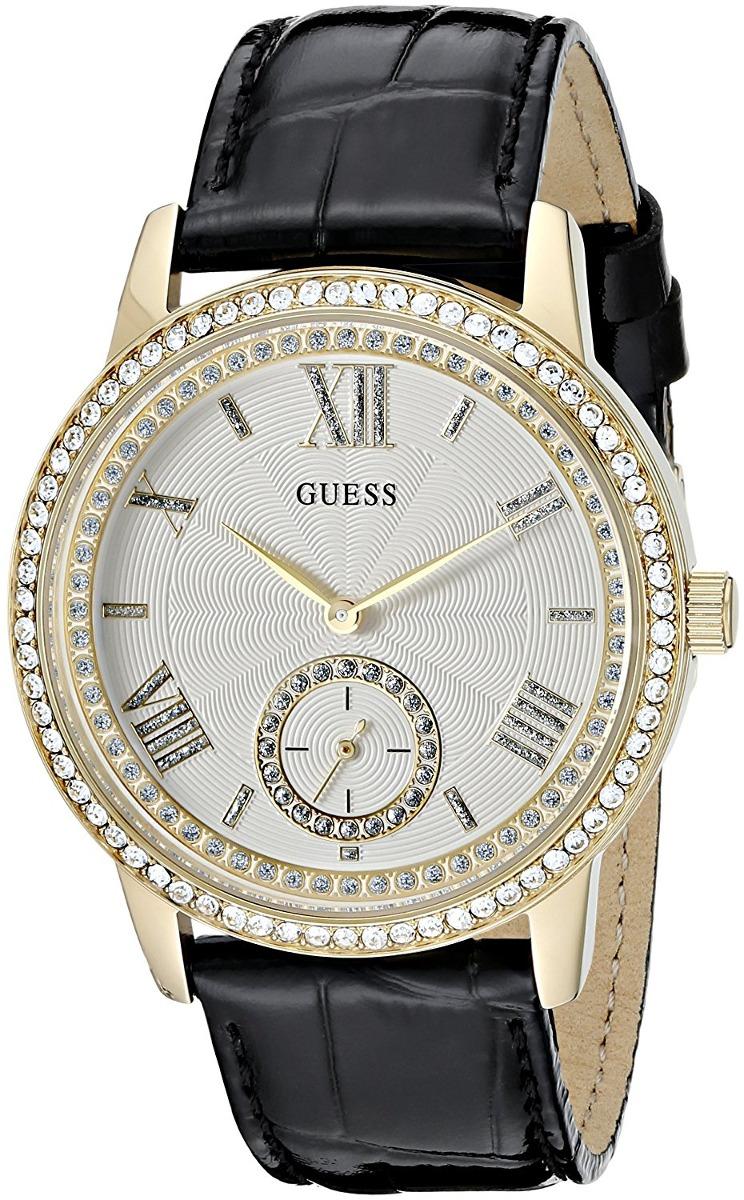 96178943dffe reloj pulsera guess elegante negro y dorado p mujer u0642l2. Cargando zoom.