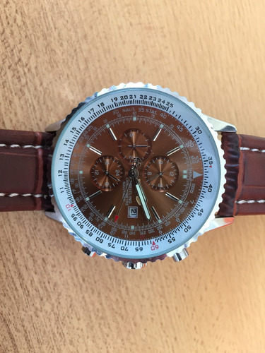 reloj pulsera hombre     breitling   cronometre navitime