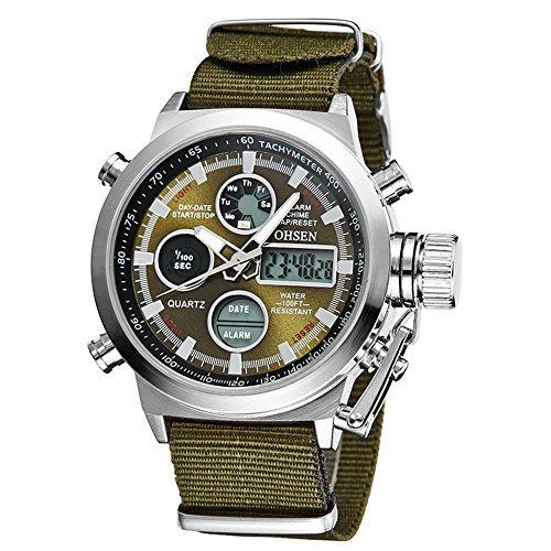profesional de venta caliente 2019 real Venta barata Reloj Pulsera Hombre Deportivo Digital Correa Nailon Correa