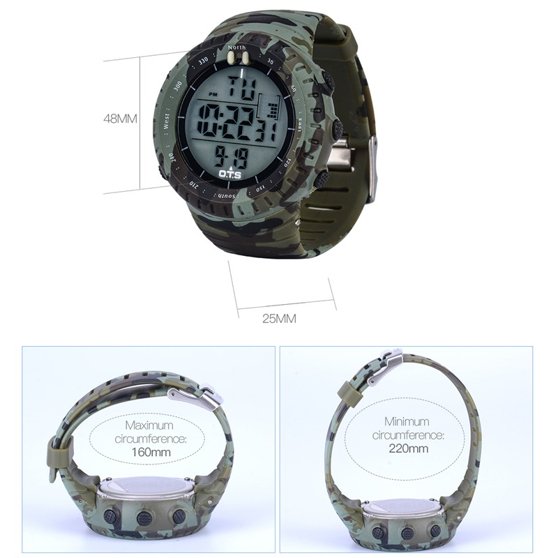 281185494e7c reloj pulsera hombre deportivo reloj digital sumergible 50m. Cargando zoom.