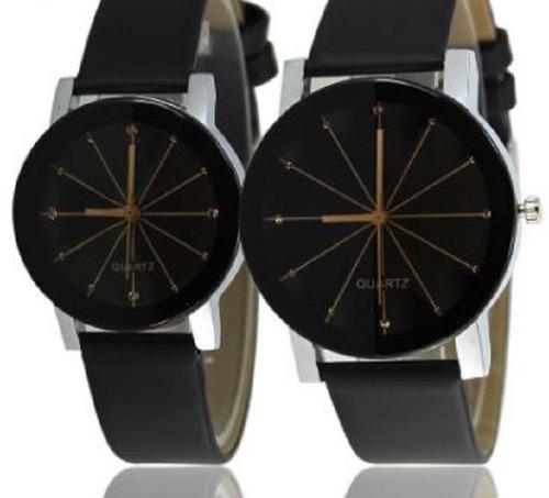 reloj pulsera hombre estrella negro biselado new 2019 stock *** full-time mania *** mercadolider platinum !!