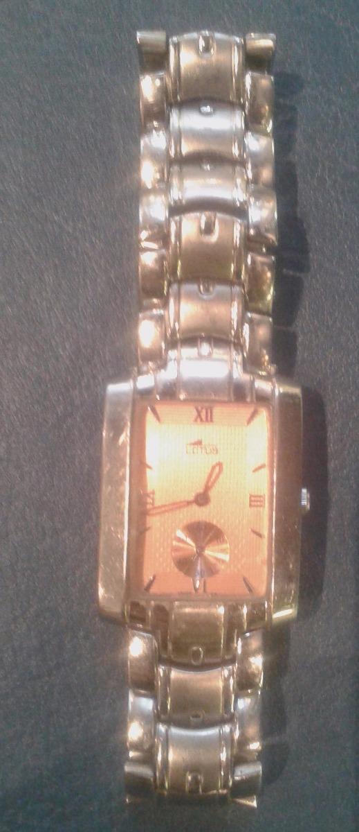 515c06aa5d49 reloj pulsera hombre lotus water resist funciona perfecto. Cargando zoom.