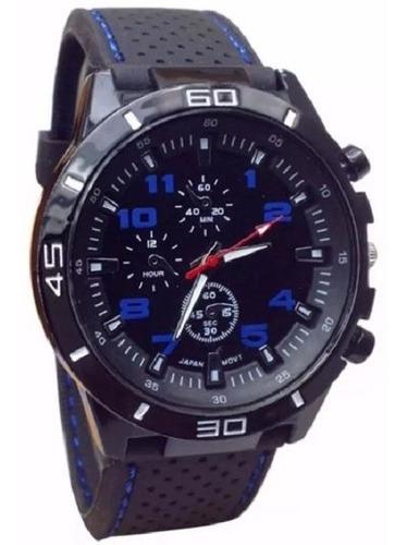 reloj pulsera hombres x5 unidades gt diseño deportivo stock  *** full-time mania *** mercadolider platinum !!