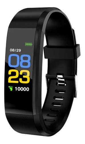 reloj pulsera inteligente bluetooth pantalla color 115plus