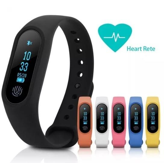 Reloj Pulsera Inteligente M2 Bluetooth Ritmo Cardiaco