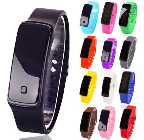 reloj pulsera led digital silicona ¡ super oferta ! envios! *** full-time mania *** mercadolider platinum !!
