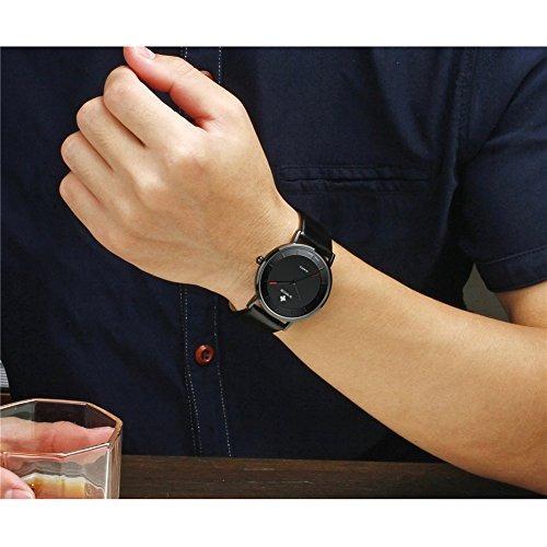 reloj pulsera lujo wwoor lujo leather strap reloj pulsera de
