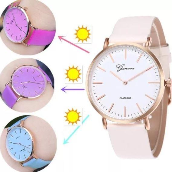 7349cf9d4d8f reloj pulsera mujer cambia de color x 5 unidades ¡ oferta ! reloj pulsera  mujer