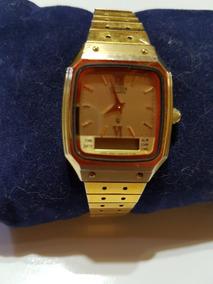 gran variedad de Excelente calidad gran venta Reloj Pulsera Mujer Citizen Malla Acero Dorado Doble Hora