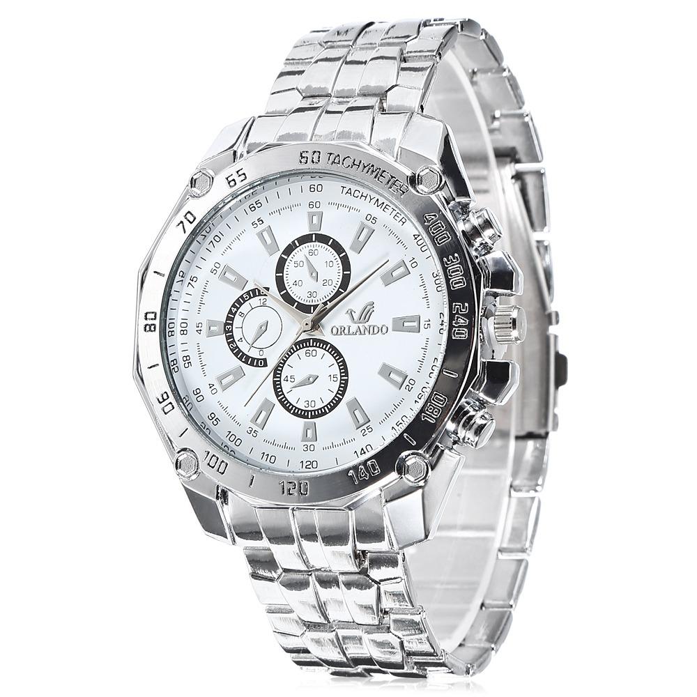 11d144af81fd reloj pulsera orlando 410 de moda cuarzo p hombre - blanco. Cargando zoom.