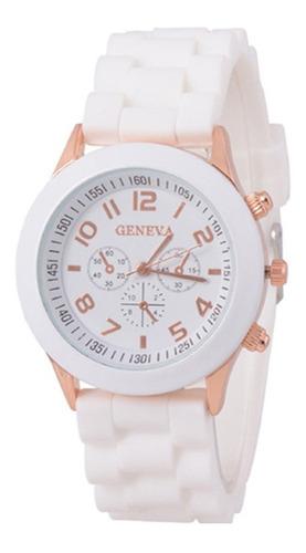 reloj pulsera por mayor geneva silicona x 5 unidades