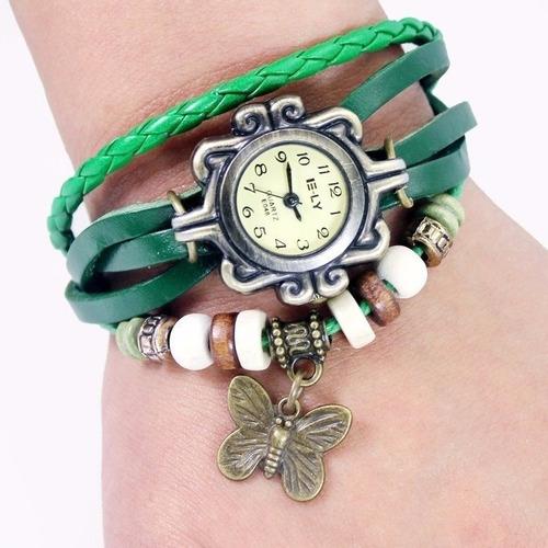 reloj pulsera por mayor y al detal cuero promocion