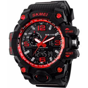 Reloj Shock Tipo Militar Tactico Sumergible Indestructible