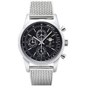 Breitling Transocean Cronógrafo 1461 Reloj Para Hombre A /