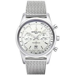 Breitling Transocean Cronógrafo 38 Reloj Para Hombre A / G7