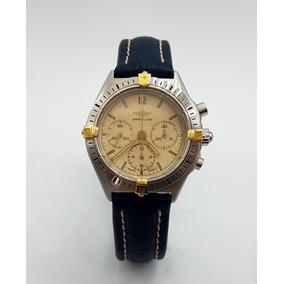 Reloj Breitling Chronografo Original Oro Acero