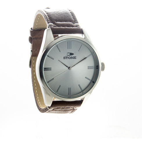 reloj pulsera stone hombre st1060 cuero agente of liniers