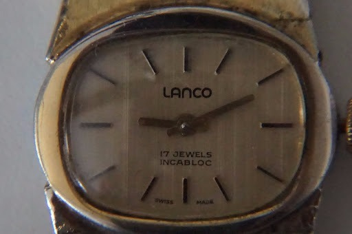 4fff9bc555de Reloj Pulsera Suizo Mujer Lanco 17 Jewels -   1.750