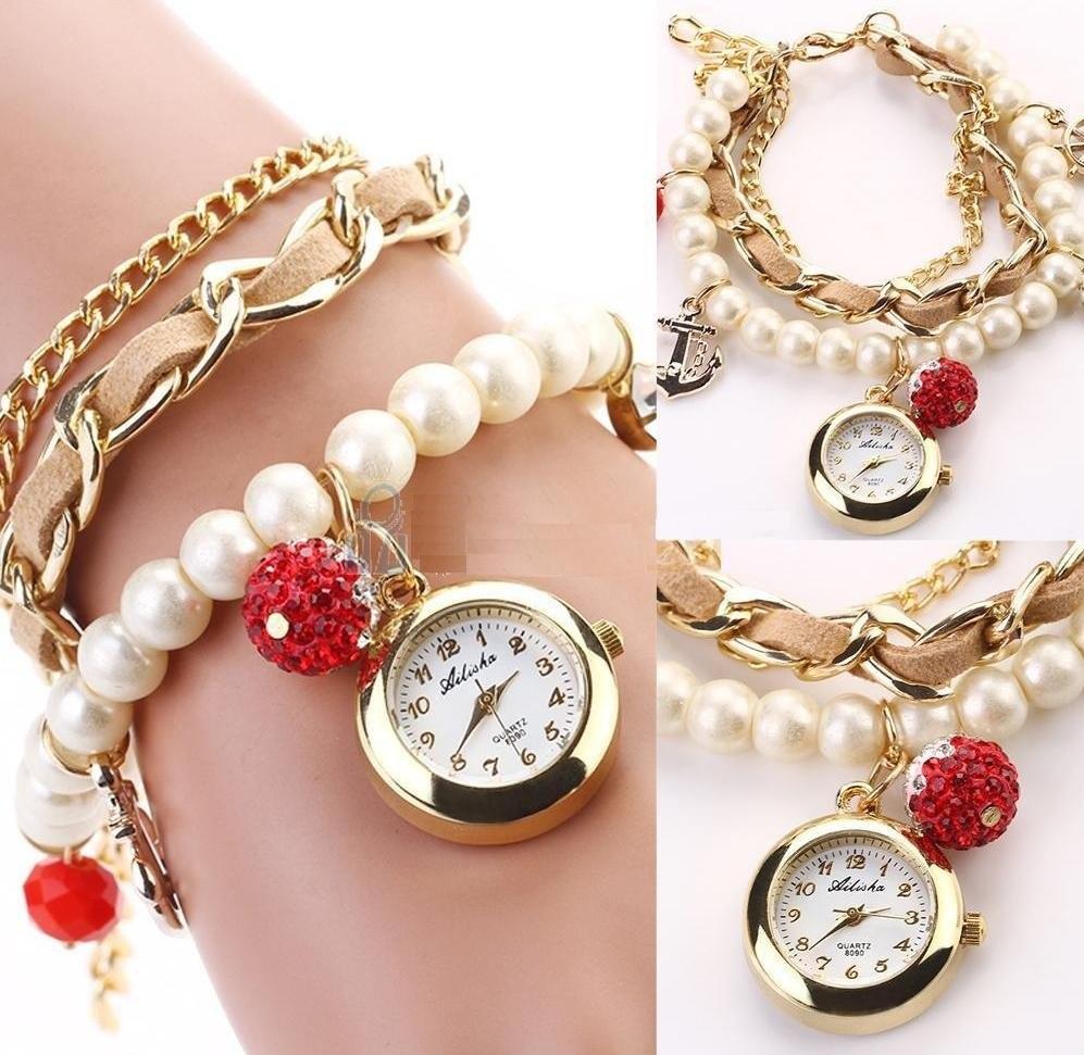 710d71211791 reloj pulsera vintage hermoso moda para mujer. Cargando zoom.