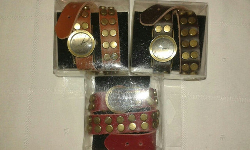 reloj pulsera vintage mujer cuero comprando 5 uno de regalo