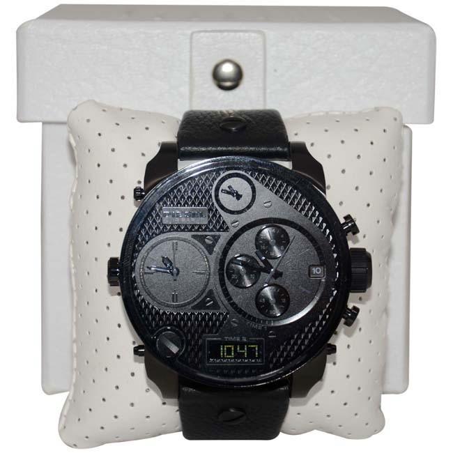 2a9a420216eb Reloj Pulso Diesel Dz7193 Hombre Cuero Cronografo Acero -   853.900 en  Mercado Libre