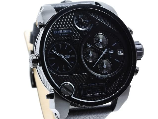 0e3b36ba699c Reloj Pulso Diesel Dz7193 Hombre Cuero Cronografo Acero -   853.900 ...