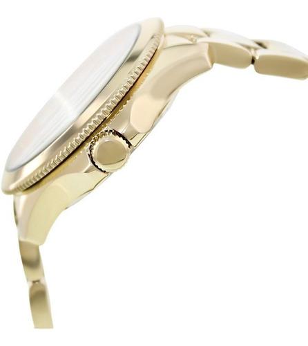 reloj pulso fossil am4510 dama cuarzo acero inoxidable oro