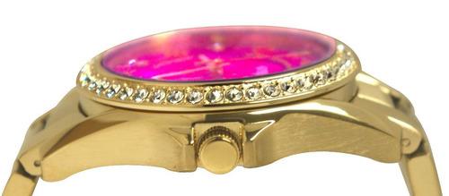 reloj pulso fossil es3507 dama cuarzo acero inoxidable rosa