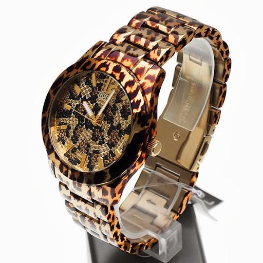 Reloj Pulso Chic Safari Guess Dama W0001l2 Fierce Acero ZOkiPXu