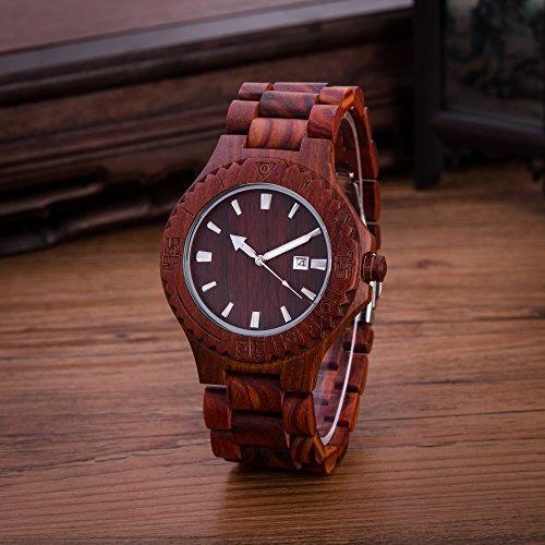 86fdf001a2fd Reloj De Pulso Mujer Kenon Womens Wood Watch -   165.533 en Mercado ...