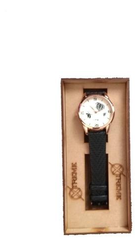reloj pulso mujer xtreme/teens estuche caja mdf envio gratis