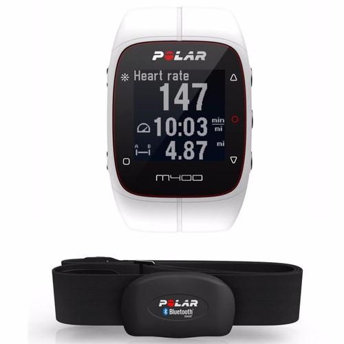 reloj pulsómetro polar m400 con monitor fc entrega inmediara