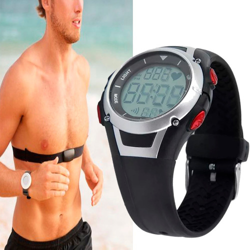 reloj pulsómetro sigma + banda ritmo cardiaco pecho ft1