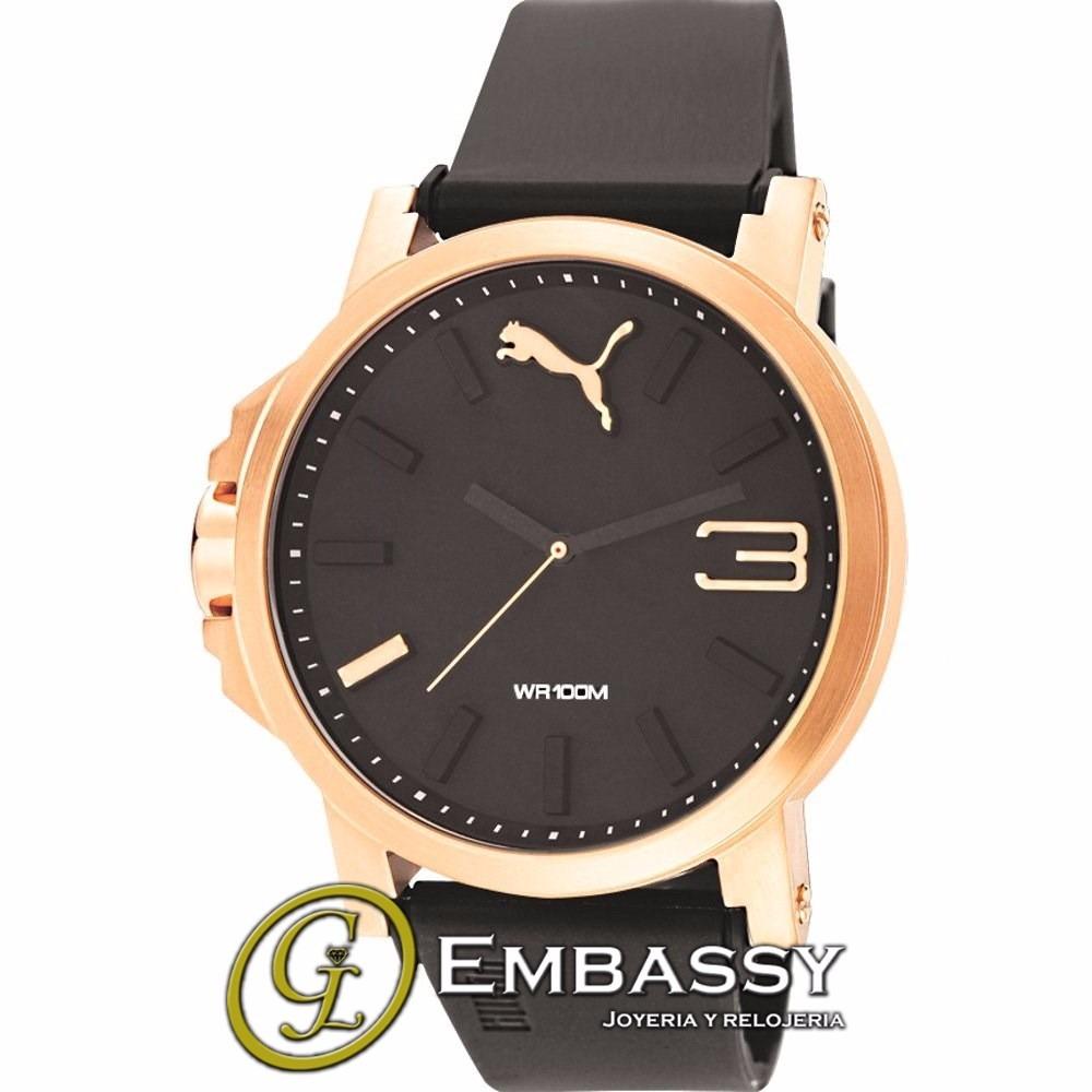 Reloj 103462014 DoradoHombre Negro Con Detalles En Puma n0mNw8