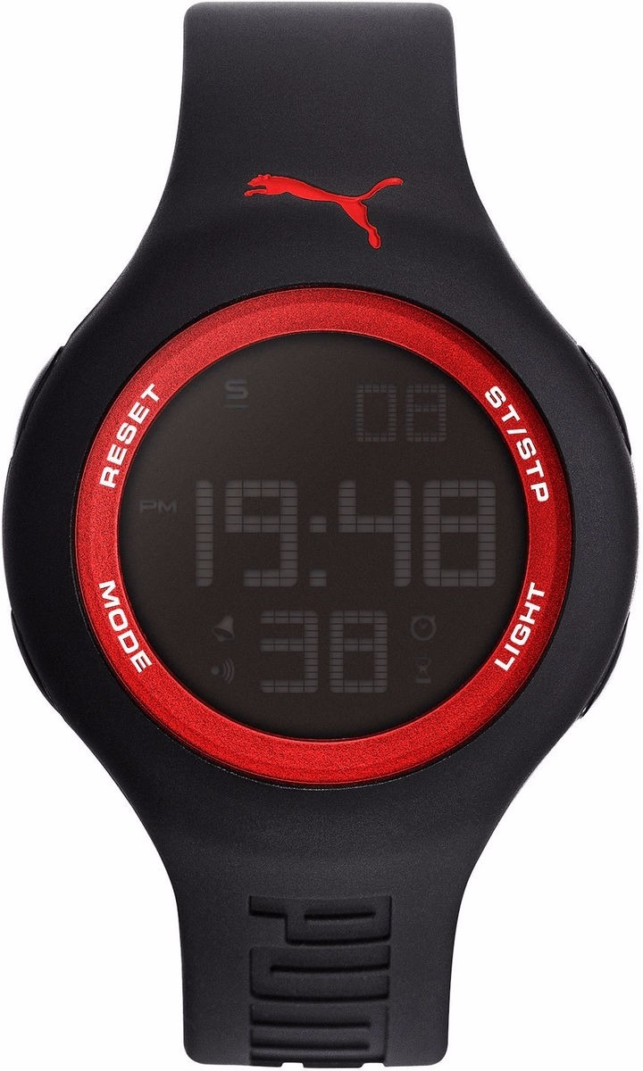 Reloj Puma Negrorojo Digital Wr50m Pu910801046 Uni Original NwZ8k0OnPX
