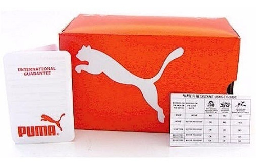 reloj puma exclusivo ultrasize elegante 100% original caja