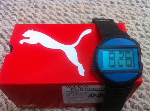 reloj puma modelo pu910891001 half time nuevo original