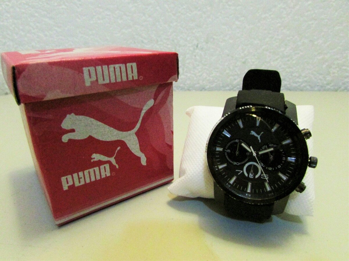 Reloj Para Puma Reloj Caballero Puma Negro Para Caballero Negro Reloj kX08PnwO
