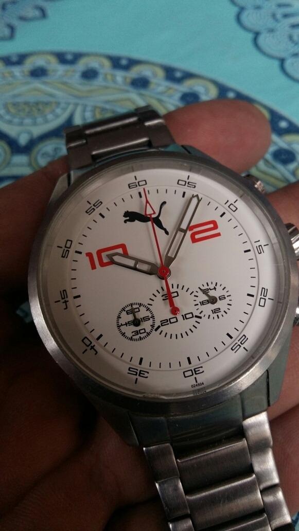 00 5 805 Func1 Varias 599 Acero Bar Resistente Puma Reloj Original NXnOk0wPZ8