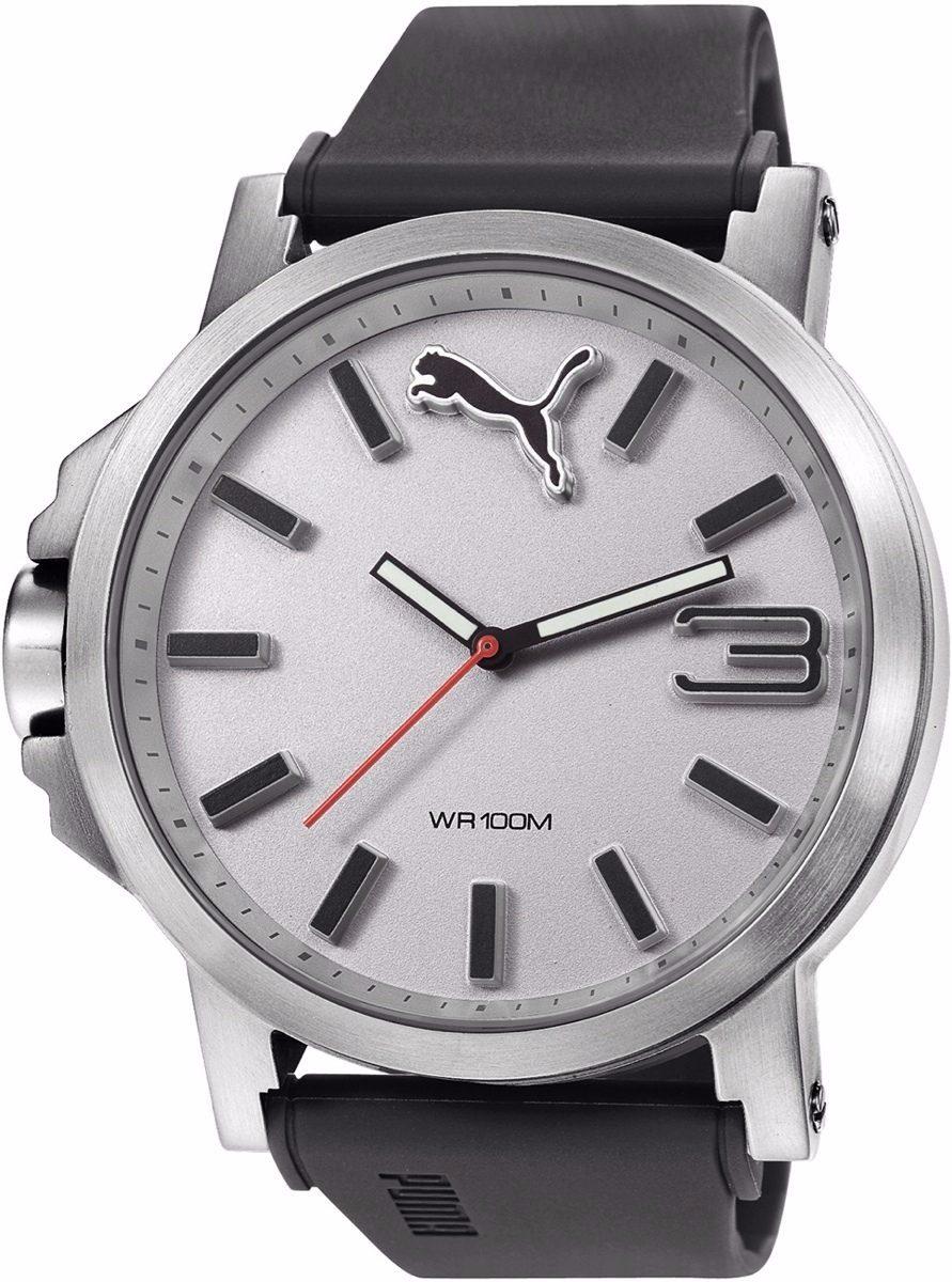 3a3fb1b81 Reloj Puma Pu102941007 Ultrasize 50 - Silver White - $ 2,499.00 en ...