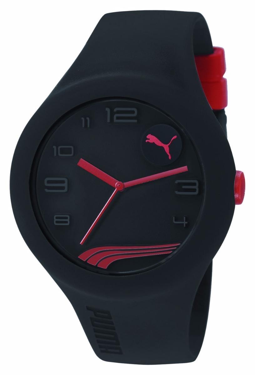 0d309c3a9187 reloj puma pu103211013 negro rojo caballero original. Cargando zoom.