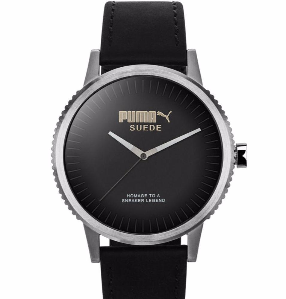 c89da4719 reloj puma pu104101002 unisex original en negro envío gratis. Cargando zoom.