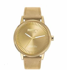 a65fc2dc8613 Reloj Puma Dorado Metal - Reloj para de Hombre Puma en Mercado Libre México